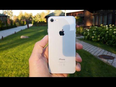 Первое знакомство с IPhone 8 и сравнение камеры с Galaxy Note 8