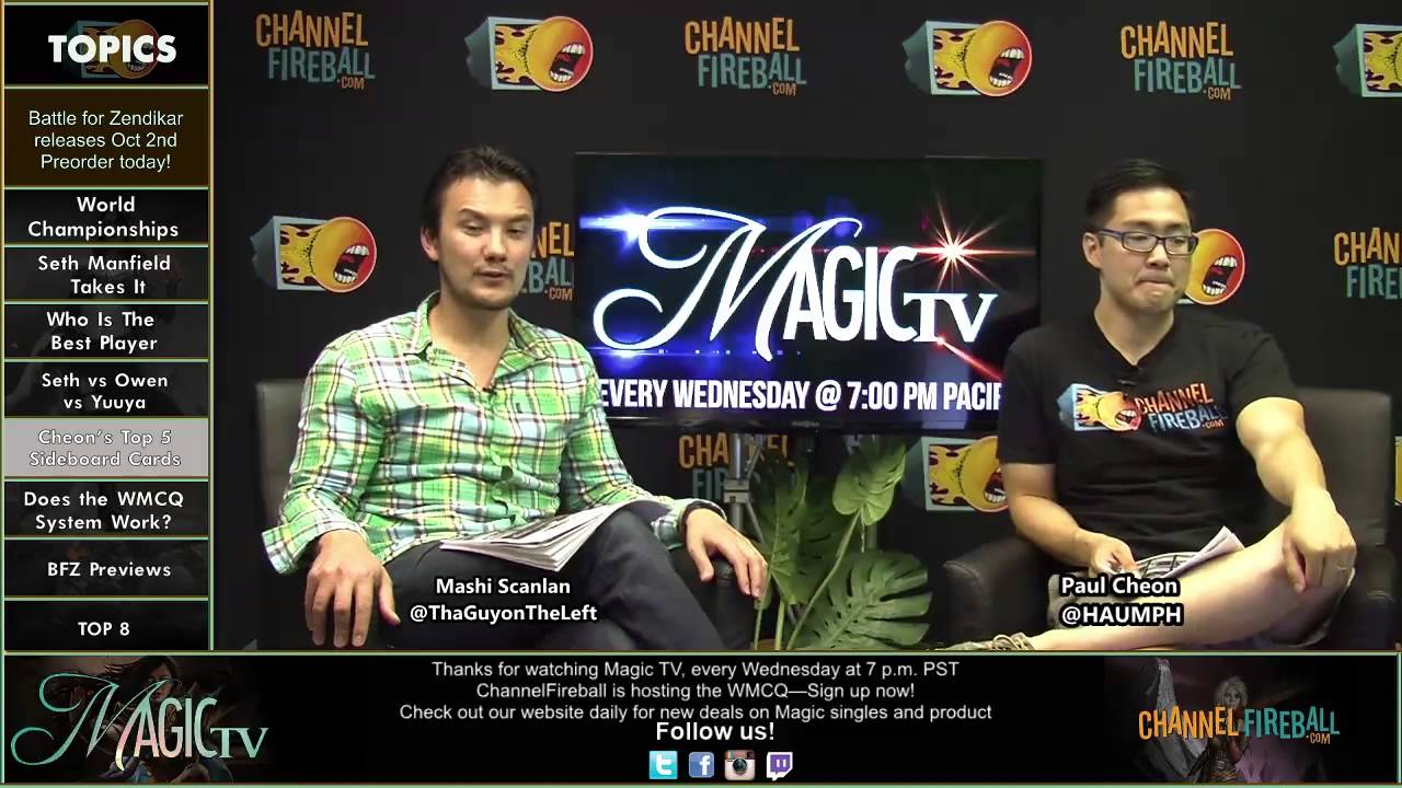 Magic TV - Paul Cheon\'s Top 5 Sideboard Cards for Modern This ...