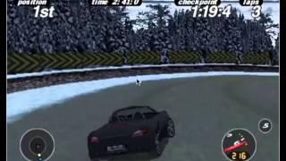 PSX full gameplay:  Porsche Challenge