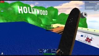 ROBLOX Hollywood Skatepark BIG Ramp Action!
