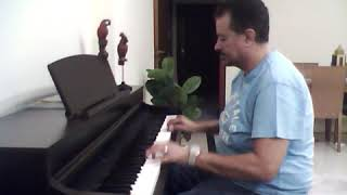 شط اسكندريه -- فيروز -- موسيقى على بيانو طارق بغدادى