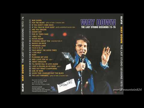Elvis Presley - Way Down   The Last Studio Sessions 73 - 76