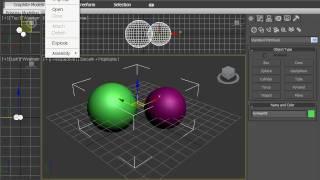 Объединение объектов в 3DsMax 2010 (9/42)