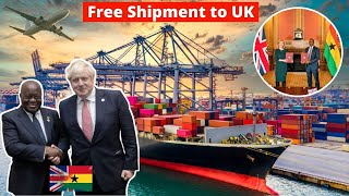 UK signed $1.6BN Trade Partnership Agreement with Ghana