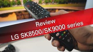 LG SK8500 SK9000 series 4K UHD TV review