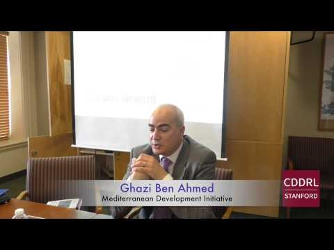 """ARD Stanford: Ghazi Ben Ahmed on """"The Tunisian Transition and the Challenge of Youth Alienation"""""""