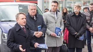 Wicewojewoda promował piątkę Kaczyńskiego