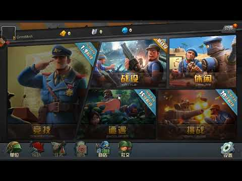 Battlefield Commander - 战地指挥官 - iOS/Android gameplay