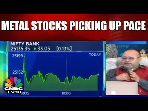 Metal Stocks Picking Up Pace | Nalco Up 7% | Chartbusters | CNBC TV18