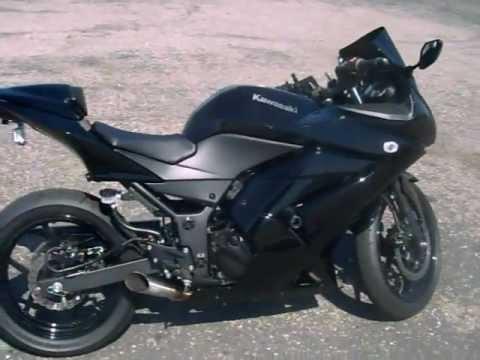 2011 kawasaki ninja 250r tire upgrade - youtube
