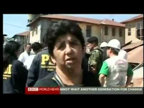 Chile 2010 Earthquake 2 of 5 - Science - BBC World News