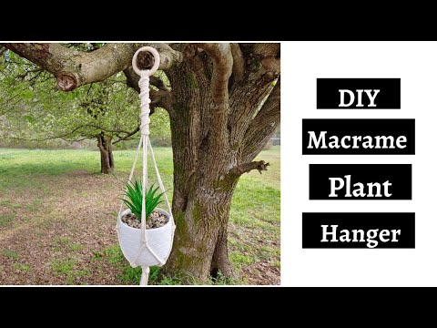 #1-diy-macrame-plant-hanger---half-hitch-knot-macrame-plant-hanger-tutorial