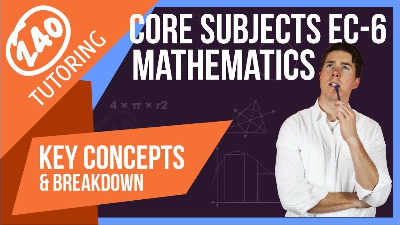 CORE Subjects EC-6: Practice Test and Breakdown [w/ Video]