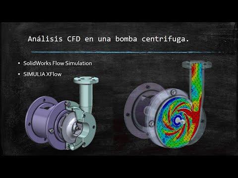 SOLIDWORKS Flow Simulation – Tutorial de flujo en una bomba centrifuga.