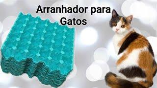 Reciclagem:Arranhador para Gatos