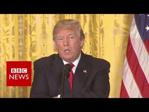 Trump: 'There was no collusion' - BBC News
