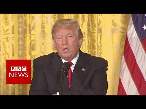 Trump: 'There was no collusion' – BBC News