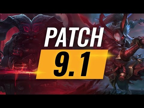 Best Champions TIER LIST - League of Legends Patch 9.1