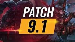 Best Champions TIER LIST - League of Legends Patch 9.1