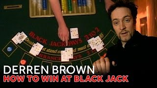 Derren Brown Demonstrates How He Wins At Black Jack