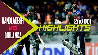 Sri Lanka vs Bangladesh | 2nd ODI | ODI Series | Bangladesh tour of Sri Lanka 2019