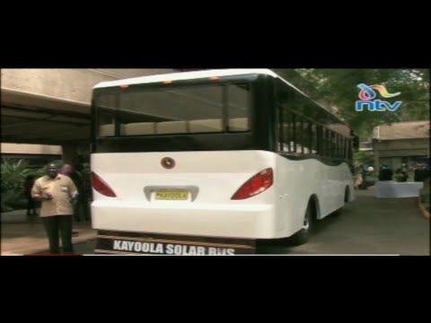 Uganda's Kayoola solar bus steals the show at the United Nations Environment Assembly