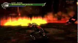 mksm play as inferno scorpion in netherrealm fire trails
