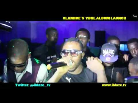 Olamide Ybnl Launch with samklef