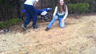 Why girls shouldn't ride dirt bikes