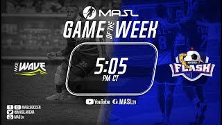 Monterrey Flash vs Milwaukee Wave (English)