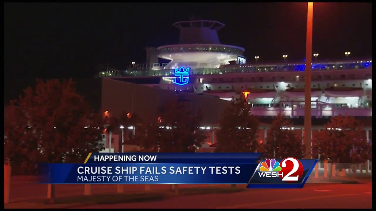 Royal Caribbean Cruise Ship Stuck At Port Over Safety Issue
