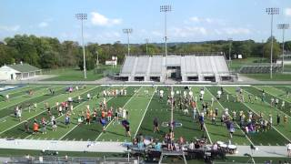 Downingtown West Marching Band -- Gangsta Jazz 9/22/2012