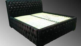 Кровать со стразами на заказ