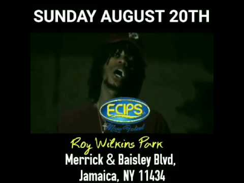 Alkaline will be performing live @ecipsmusicfestival on August 20th 2017 @ Roy Wilkins Park New York