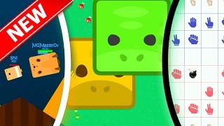 BEST 3 NEW .IO GAMES |Agar.io With Squares/Sharks & Rock,Paper,Scissors| Deeeep.io/Rops.io/Anomal.io