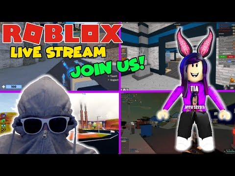 ROBLOX STREAM ! - Arsenal, MM2 and more! - COME JOIN THE FUN ! #339