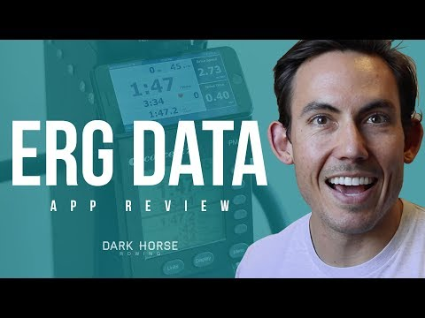 Best Apps For Rowing Machines 2018: Erg Data