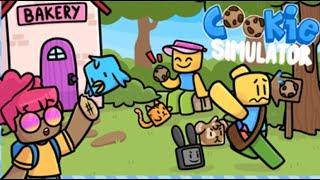 и как тут играть и выбрать карту? Симулятор печенья в Roblox!!! Cookie Simulator