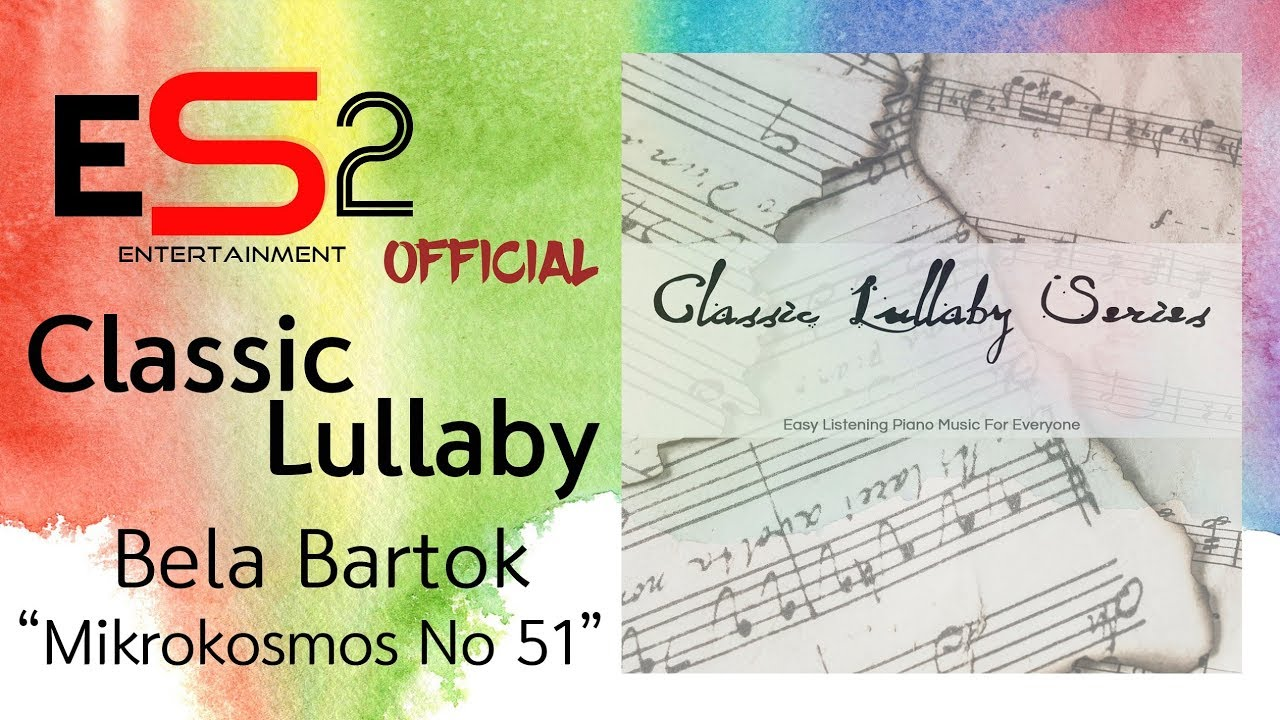 Bela Bartok Mikrokosmos No 51 Waves (Easy Listening Classic Piano)