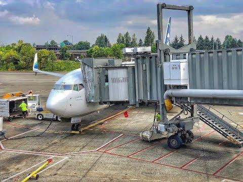 Alaska Airlines First Class   Boeing 737-900ER   SJC-SEA