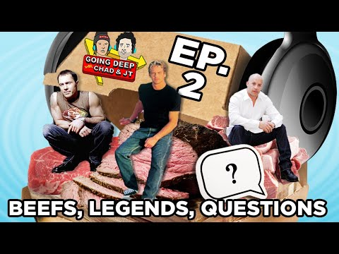 Ep. 2 - Beefs, Legends, and Questions