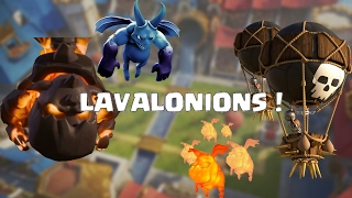 TOP 3 ATAQUES DE LAVALONIONS NO MULTIPLAYER ! CLASH OF CLANS