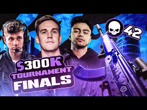 HOW WE CLUTCHED A $300K WARZONE TOURNAMENT!! CRAZIEST TV STATION FIGHT! (Warzone)