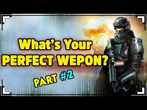 What is The Best WEAPON For You? (MODERN WEAPONS!)