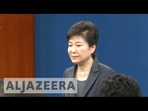 South Korea: President Park 'involved' in scandal, say prosecutors