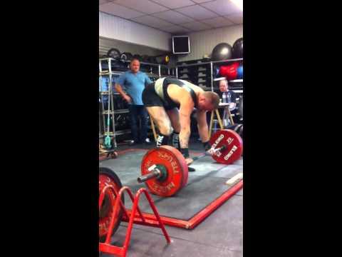 Melle de Boer-230kg raw deadlift
