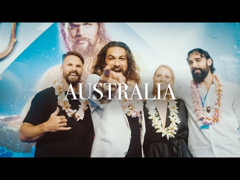 Australia!   Jason Momoa