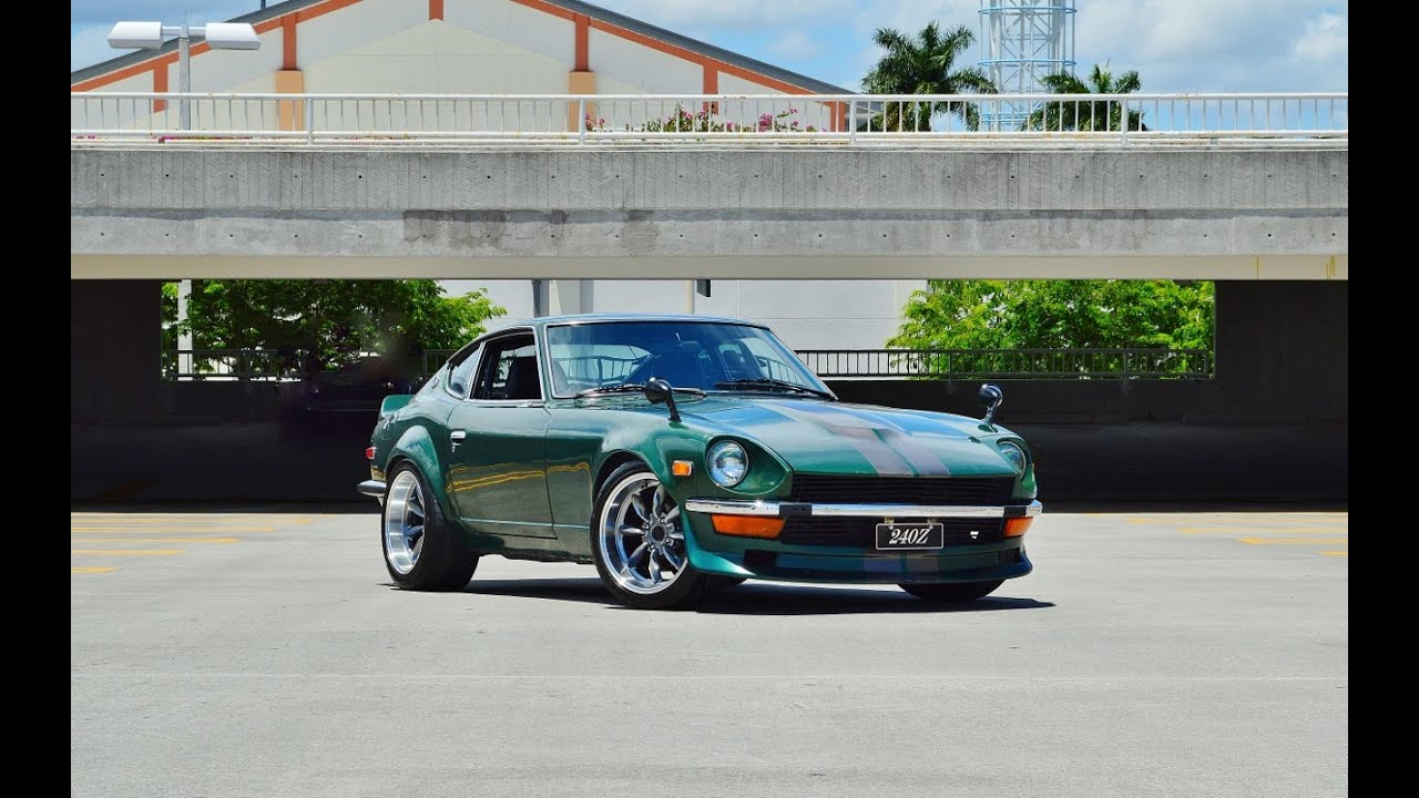 1971 datsun 240z custom walk around in car pulls for sale call 305 988 3092 youtube. Black Bedroom Furniture Sets. Home Design Ideas