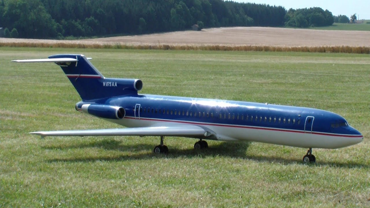 Huge 727 Boeing RC [Specialy Turbine] Model Airliner