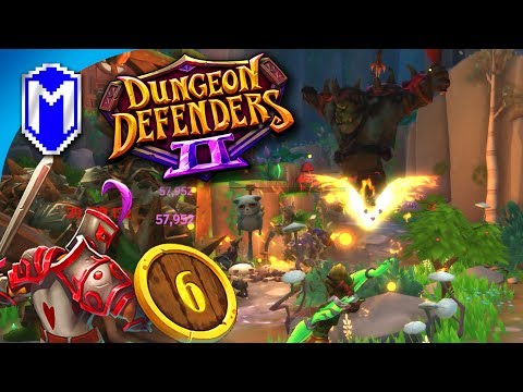 How To Solo Forest Crossroads With The Default Heroes - Let's Play Dungeon Defenders 2 Gameplay Ep 6